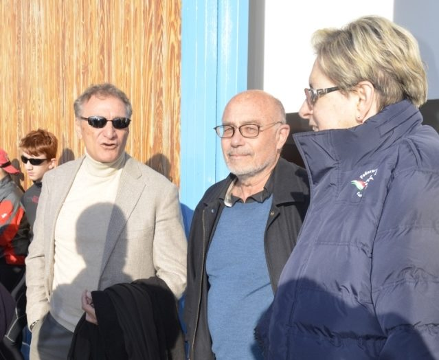 Luciano Buonfiglio – Presidente della Federazione Italiana Canoa e Kayak (F.I.C.K.) e Vice Presidente del C.O.N.I. – in visita alla Canottieri Sanremo A.S.D.